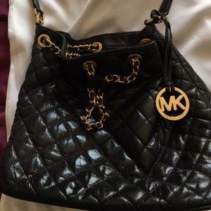 Michael Kors quilted shoulder bag
